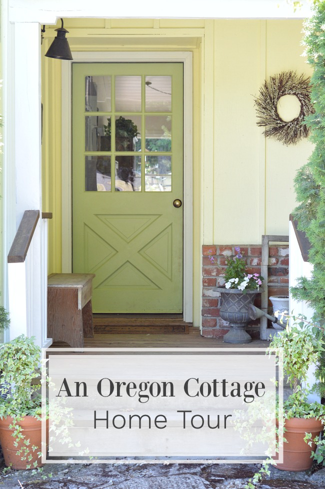 Welcome to An Oregon Cottage House Tour celebrating a simple handmade life