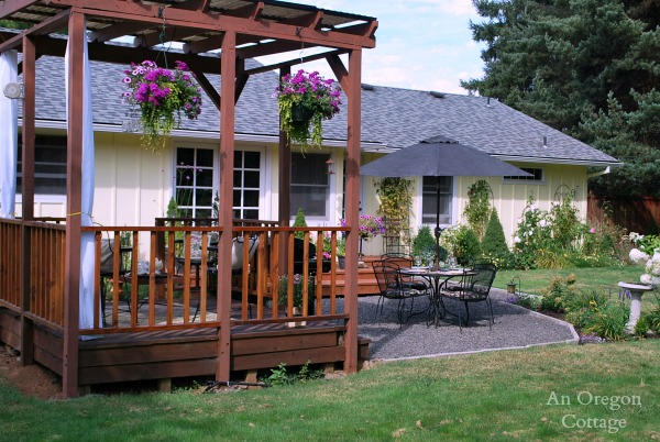 The Backyard Makeover Reveal - An Oregon Cottage on Outdoor Patio Makeover id=85259