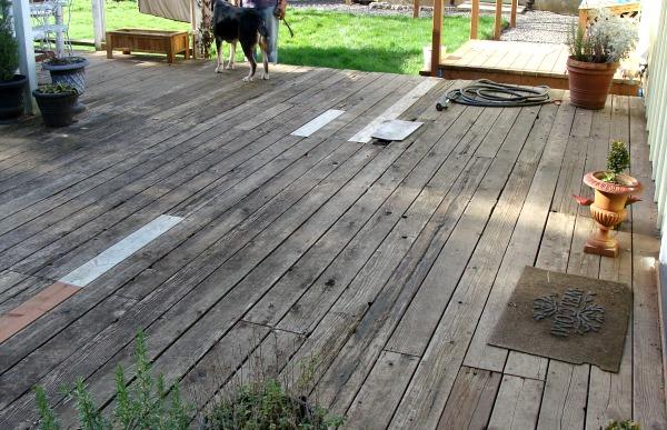 DIY Backyard Makeover - Huge Rotting Deck
