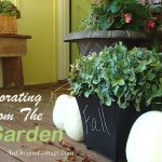 Decorating from the garden