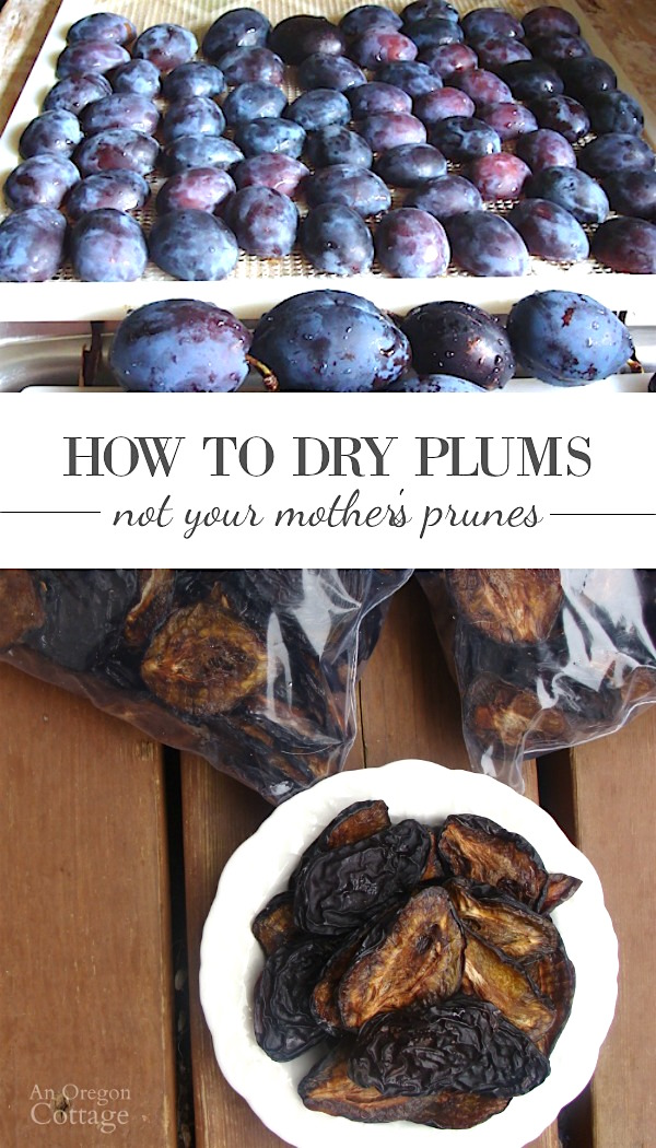 How to Make Dried Plums