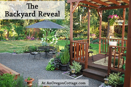Backyard Renovation Ideas : The Backyard Makeover Reveal  An Oregon Cottage