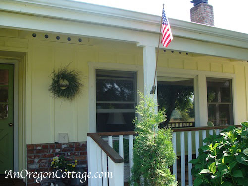 flag-on-porch