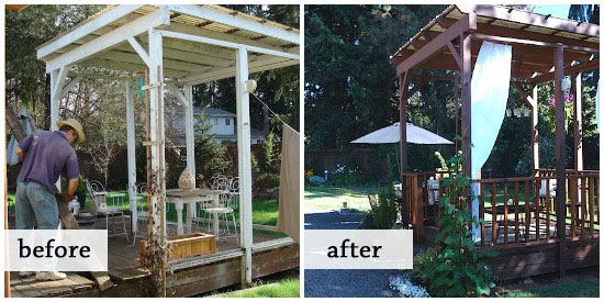 gazebo before-after