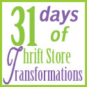 31-days of Thrift Store Transformations