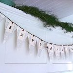 Christmas book page banner