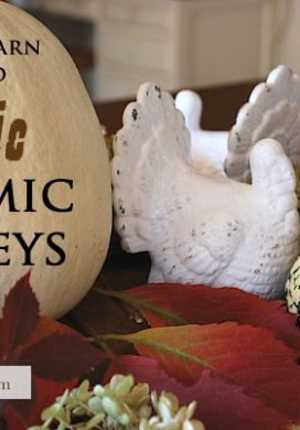 Rustic-White-Ceramic-Turkeys