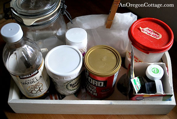 Baking Ingredient tray