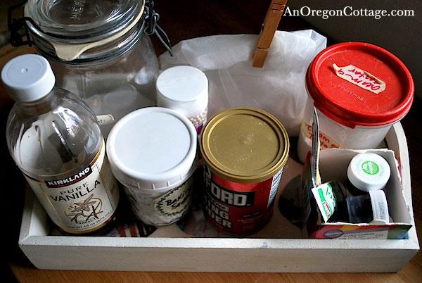 Baking Ingredient tray