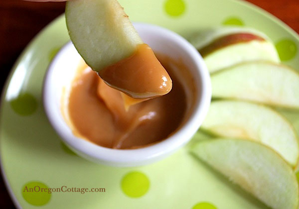 caramel dip for apples
