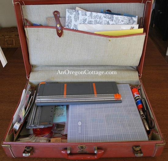 vintage-suitcase-craft-organizer