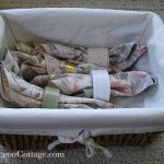 Basket of Cloth Family Napkins