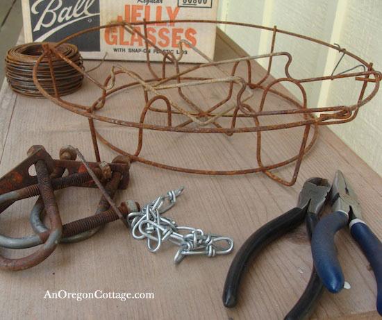 outdoor-chandelier-materials