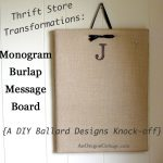 monogram-burlap-message-board