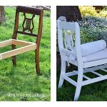 old chair bench before-after