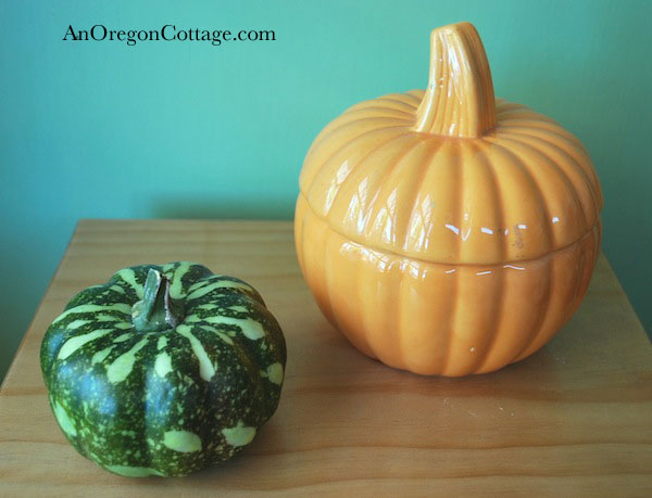 Thrift Store Pumpkins