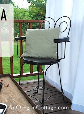 Metal Chairs Makeover