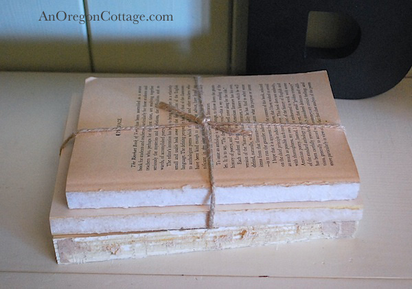 Twine bound books