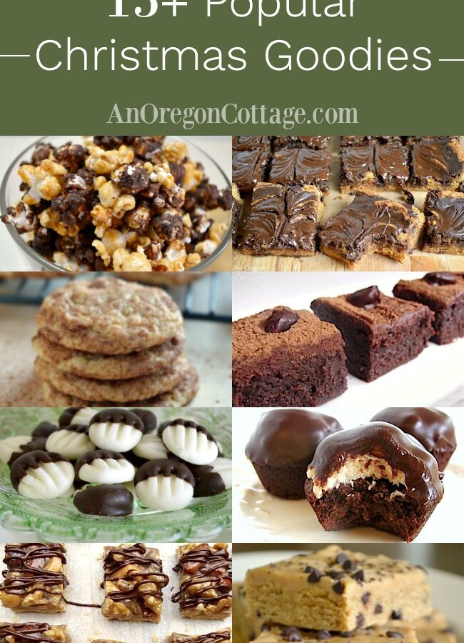 Popular Christmas Goodies collage
