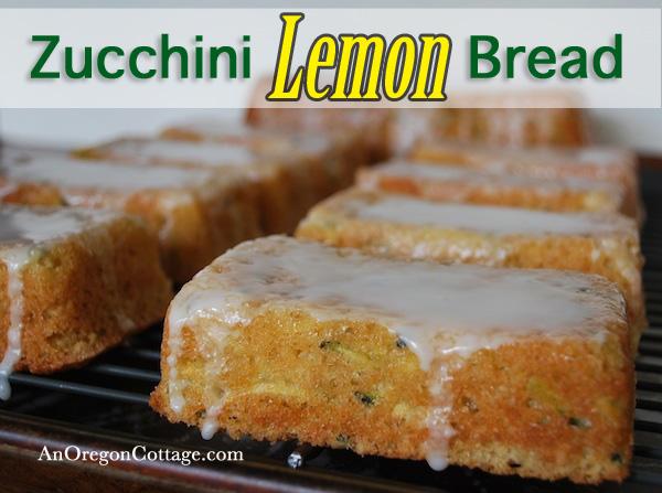 Zucchini-Lemon-Bread