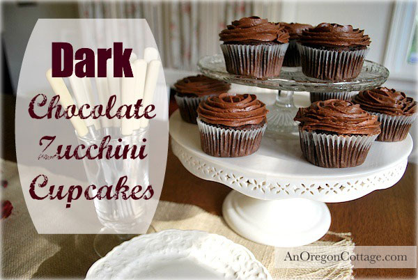 Dark-Chocolate-Zucchini-Cupcakes