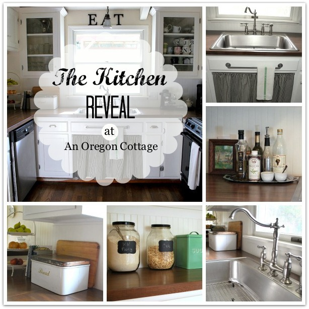 DIY Kitchen Remodel Reveal at An Oregon Cottage
