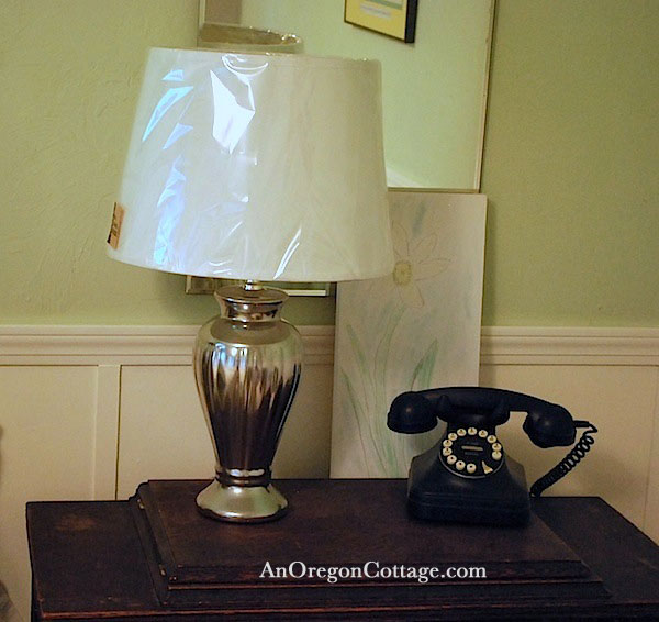 silver-lamp-on-nightstand
