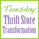 Tuesday Thrift Store Transformation