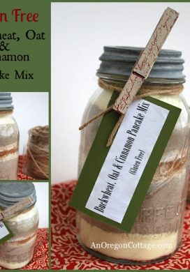 Buckwheat, Oat & Cinnamon Pancake Mix {Gluten Free}