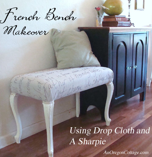 Drop-Cloth-Bench-Makeover