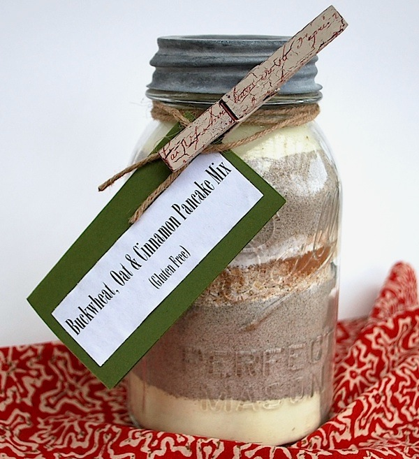 Gluten Free Buckwheat Oat Pancake Mix