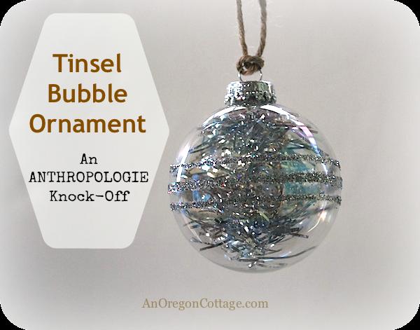 Tinsel-bubble-ornament