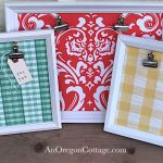 diy clip photo boards :: AnOregonCottage.com