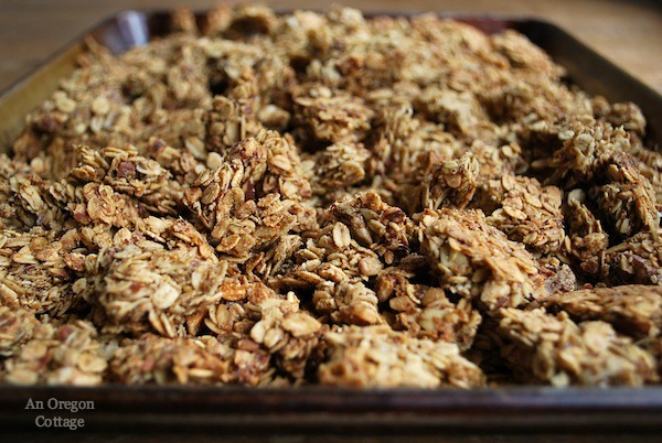 Easy Granola Bark - An Oregon Cottage