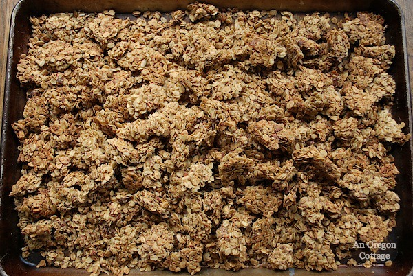 Maple Honey Granola Bark - An Oregon Cottage