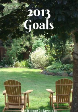 Yearly goals for 2013