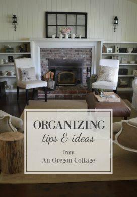 Organizing Tips, Ideas & Inspiration