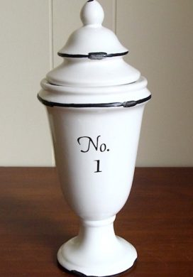apothecary jar after