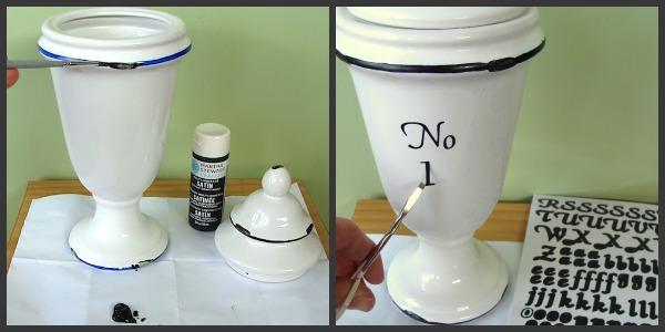 transforming apothecary jar