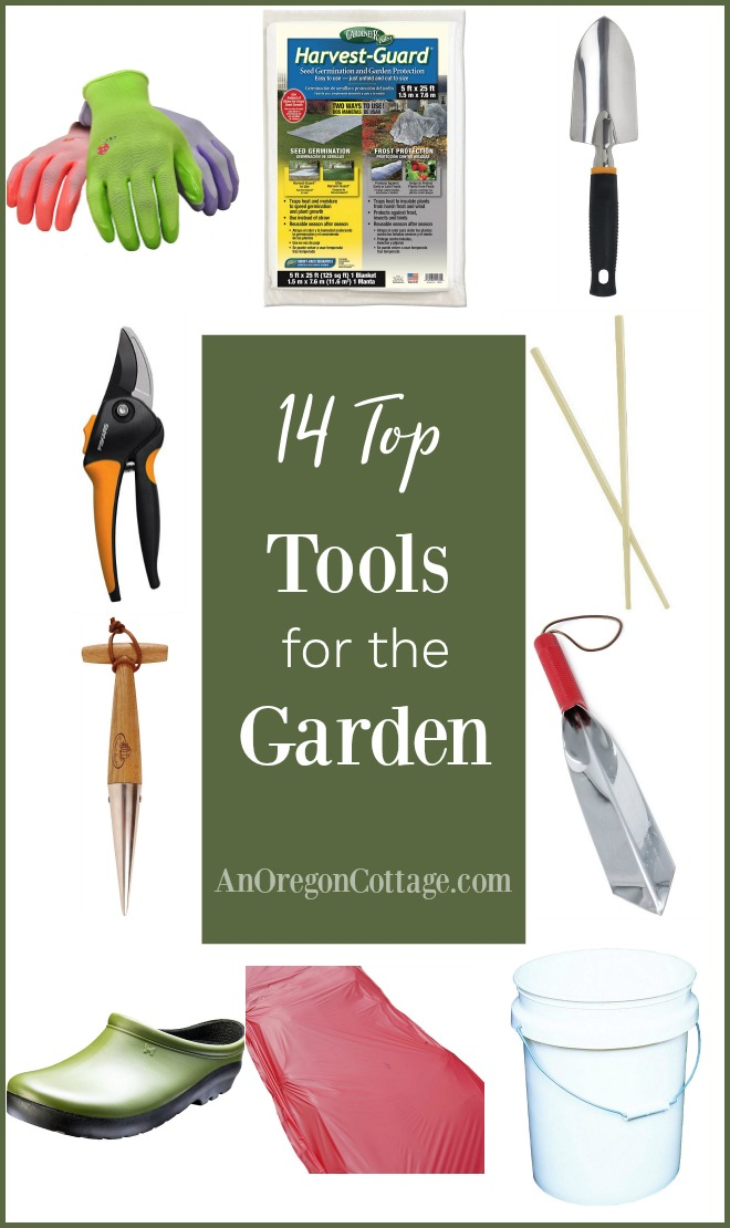 14 top tools for the garden