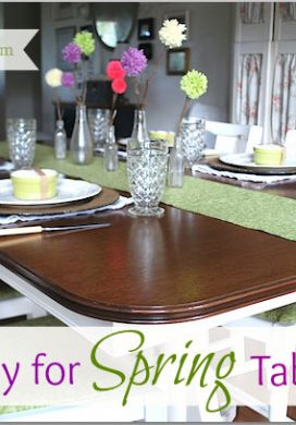 Ready For Spring Table