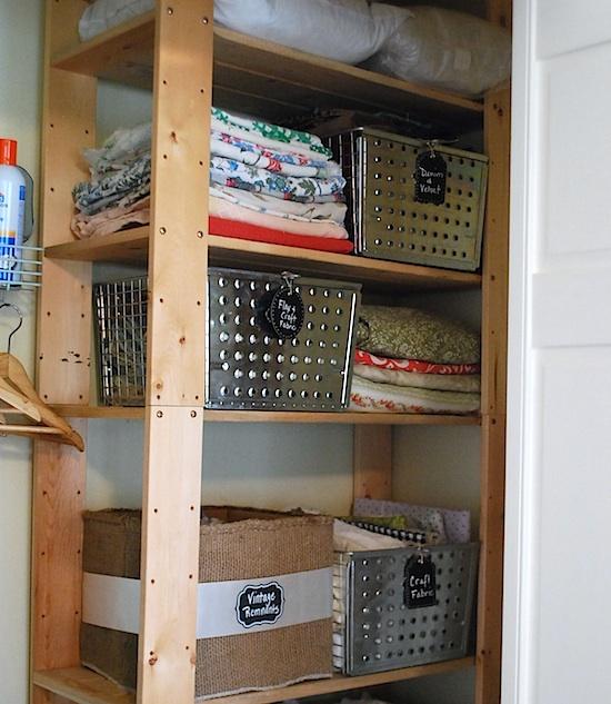 upper wood shelves
