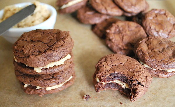 PB brownie cookie