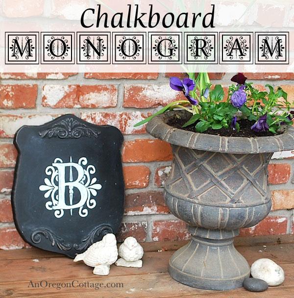 chalkboard-monogram