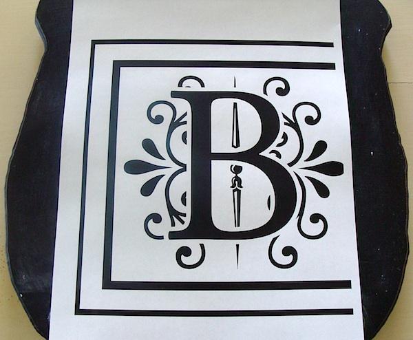 printed monogram