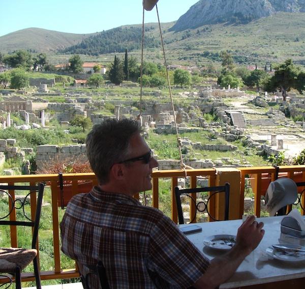 B at Corinth taverna