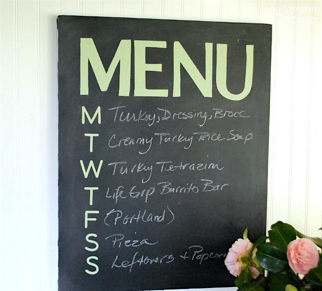 Canvas chalkboard menu tutorial