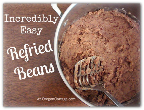 Incredibly Easy Refried Beans