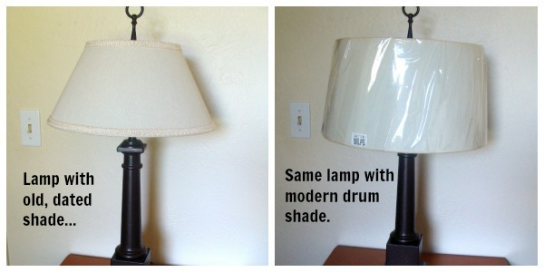 lamp with 2 shades