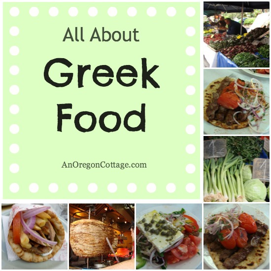 All About Greek Food